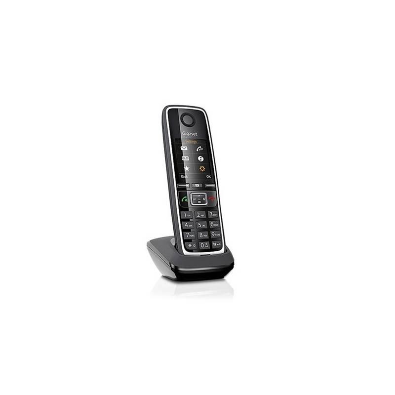 Domáci telefón Siemens C530HX - ručka (846071/S30852-H2761-R601) čierny