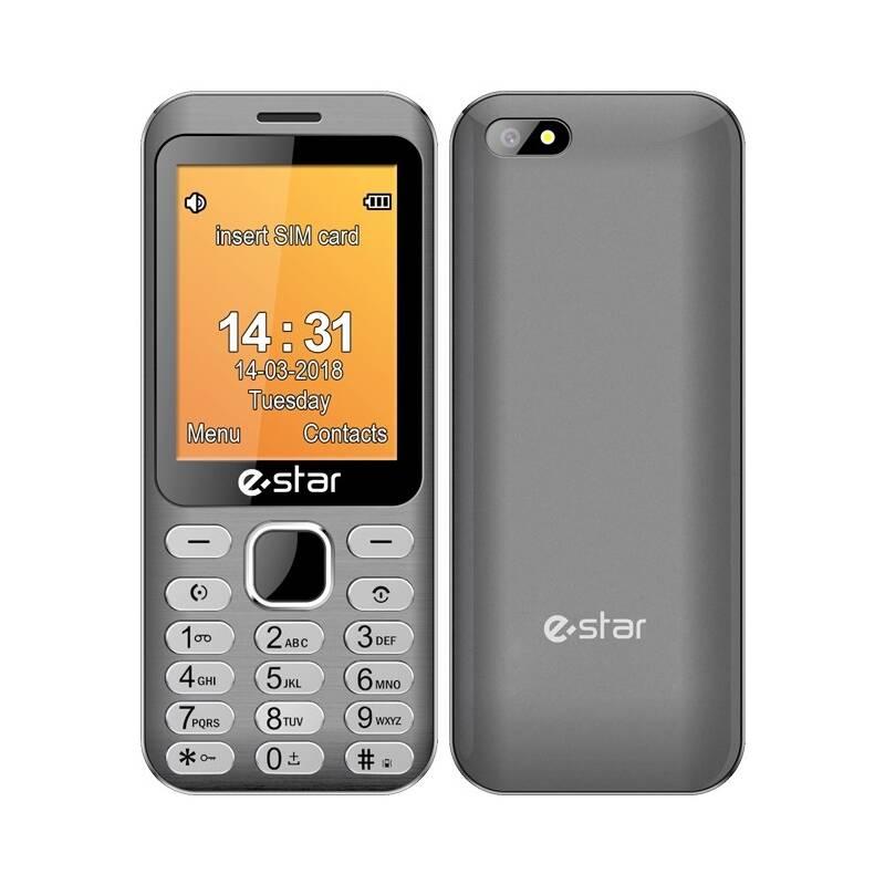 Mobilný telefón eStar X28 Dual Sim (EST000060) strieborný