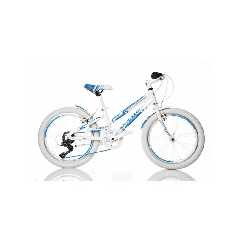 """Detský bicykel Dino Bikes 20"""" dívčí 1020G-MO + Reflexní sada 2 SportTeam (pásek, přívěsek, samolepky) - zelené v hodnote 2.80 € + Doprava zadarmo"""