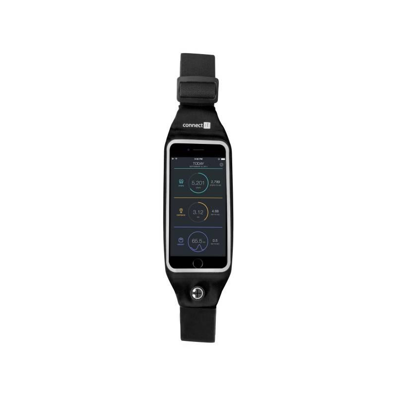 """Bežecký pás Connect IT pro mobily s uhlopříčkou 4,7"""" (CFF-2150-BK) čierny"""