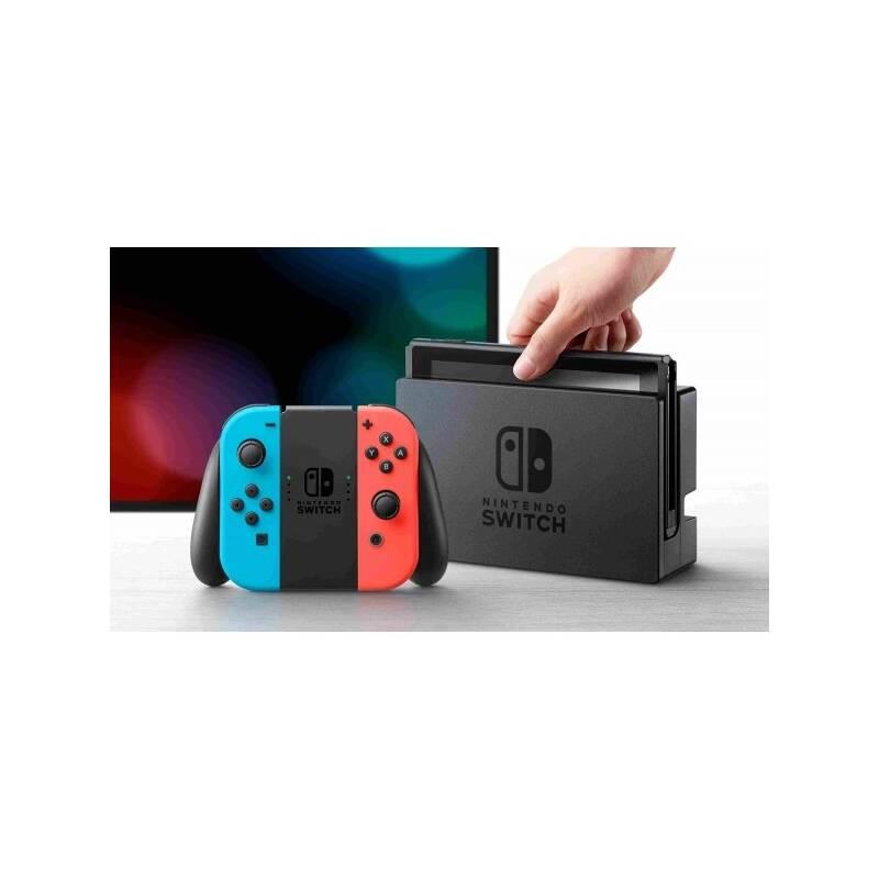 Herná konzola Nintendo Switch s Joy-Con - modro/ červená (NSH005) červená/modrá