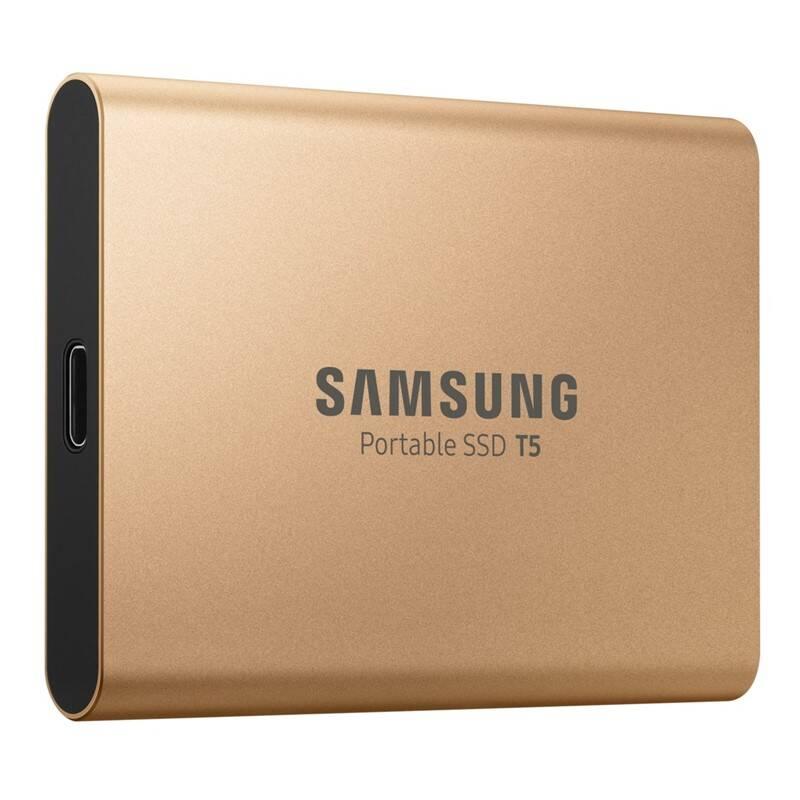 SSD externý Samsung T5, 1TB (MU-PA1T0G/EU) zlatý