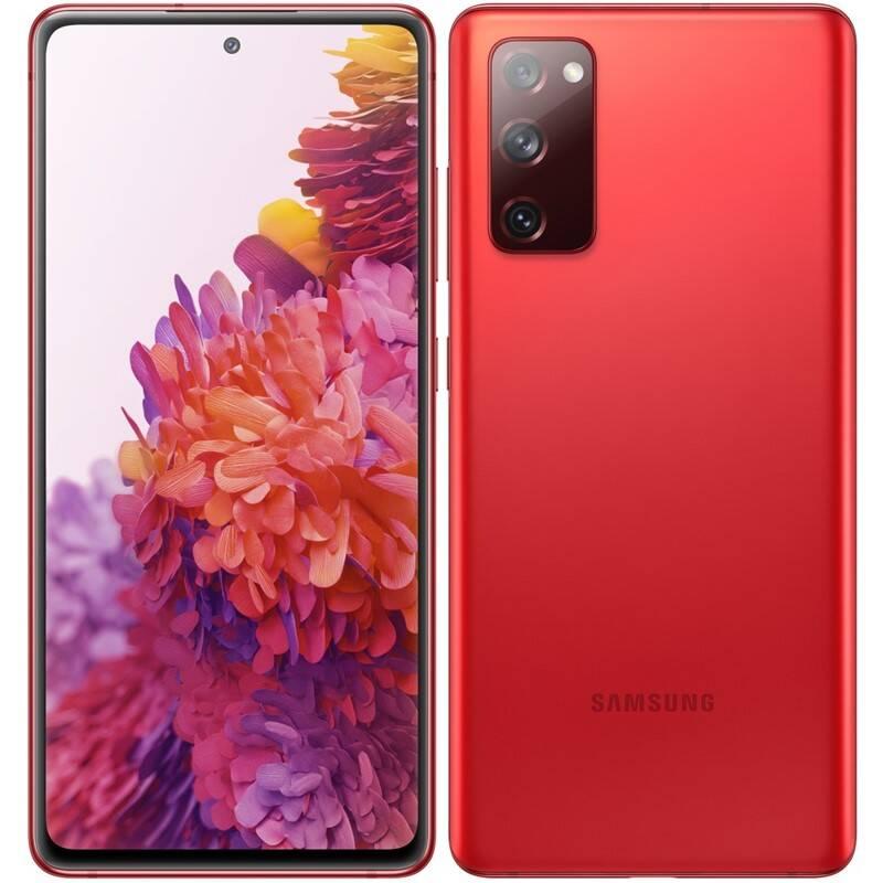 Mobilný telefón Samsung Galaxy S20 FE (SM-G780FZRDEUE) červený