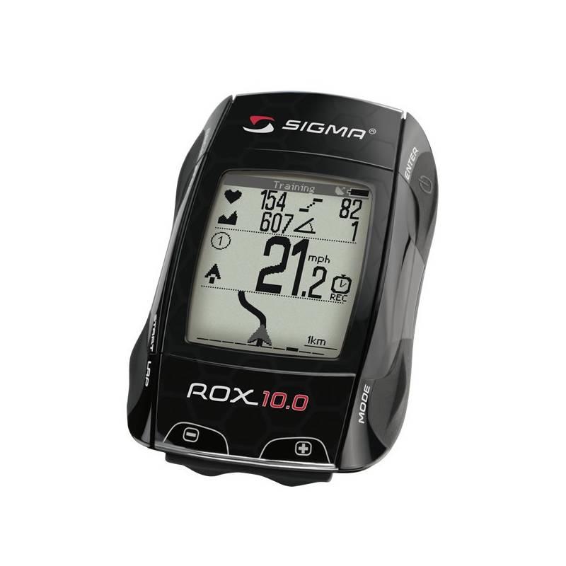 Cyklopočítač Sigma Rox 10.0 GPS Set čierny + Doprava zadarmo