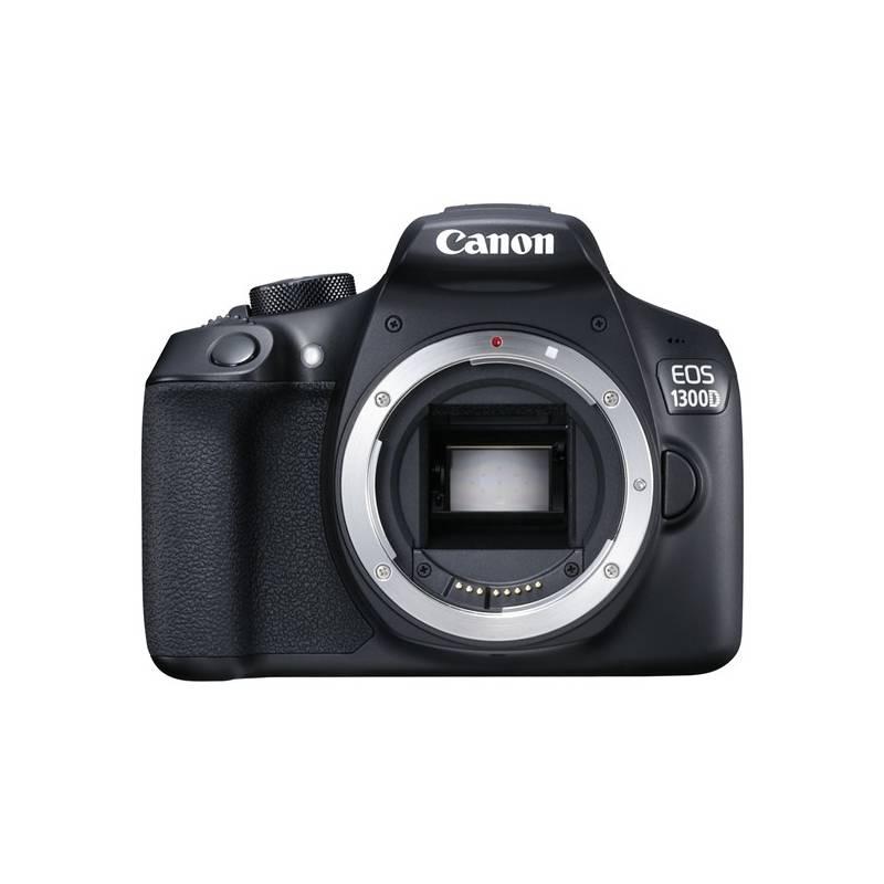Digitálny fotoaparát Canon EOS 1300D tělo (1160C022) čierny + Doprava zadarmo
