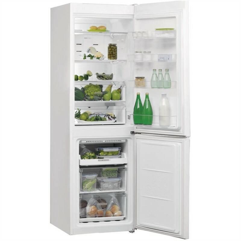 Kombinácia chladničky s mrazničkou Whirlpool W7 821O W biela + Doprava zadarmo