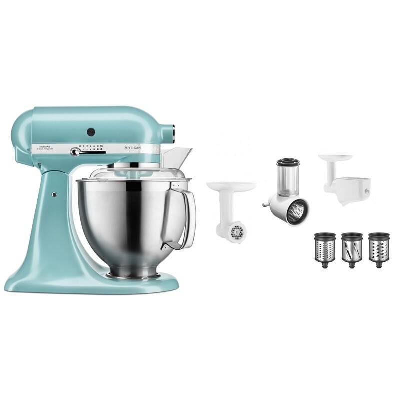 Set výrobků KitchenAid 5KSM185PSEAZ + 5KSM2FPPC