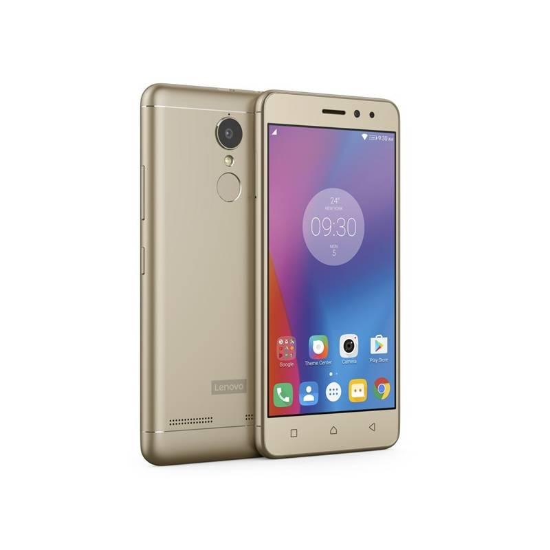Mobilný telefón Lenovo K6 Dual SIM (PA530098CZ) zlatý