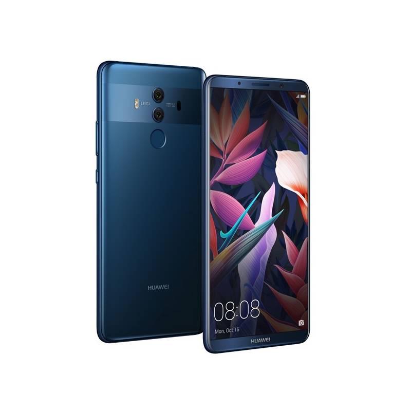 Mobilný telefón Huawei Mate 10 Pro Dual SIM (SP-MATE10PDSLOM) modrý Software F-Secure SAFE, 3 zařízení / 6 měsíců (zdarma)Fitness náramek Huawei Color Band A1 - černé (zdarma) + Doprava zadarmo