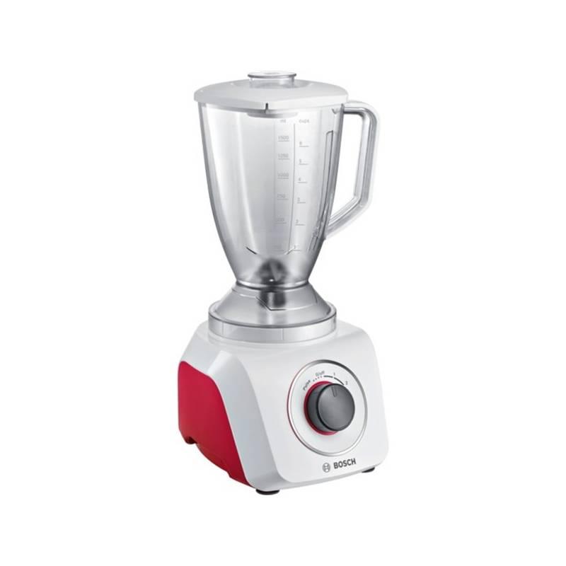 Stolný mixér Bosch MMB21P0R biely/červený