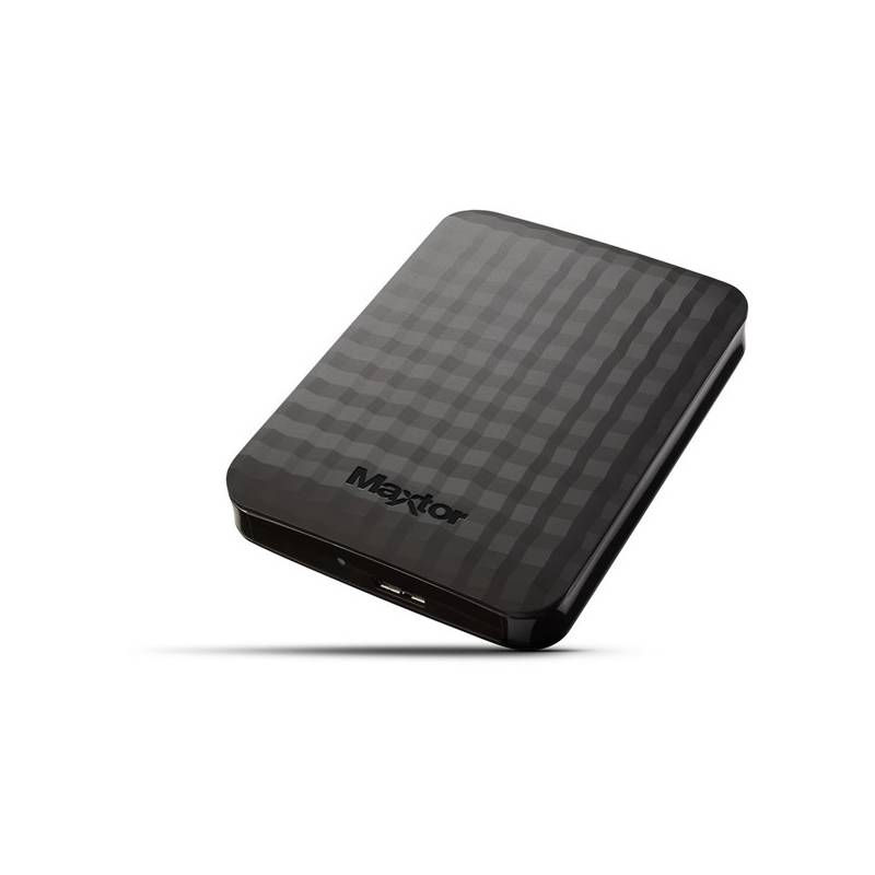 Externý pevný disk Maxtor M3 Portable 500GB (STSHX-M500TCBM) čierny