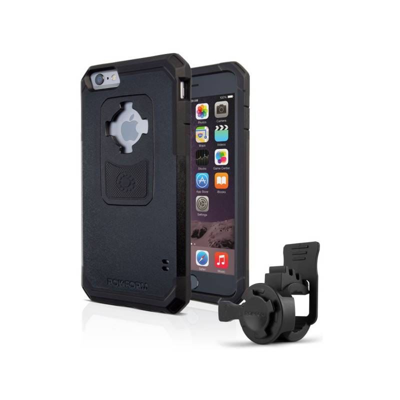 Držák na mobil Rokform na kolo pro Apple iPhone 6/6s + pouzdro (3349ip6-01) černý