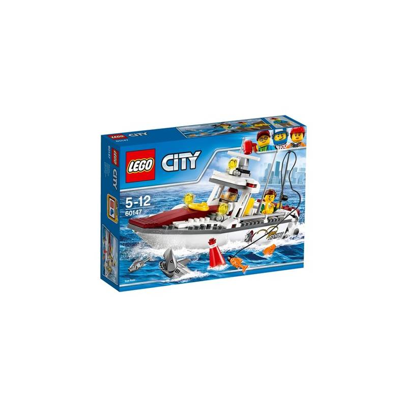 Stavebnica LEGO® CITY GREAT VEHICLES 60147 Rybářská loďka