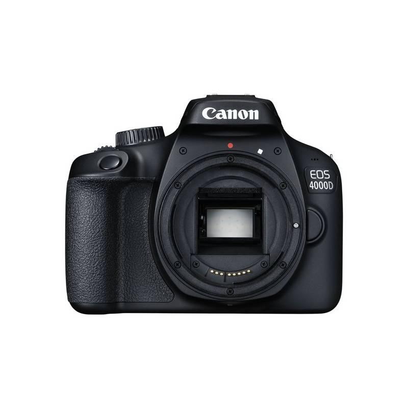 Digitálny fotoaparát Canon EOS 4000D, tělo (3011C001) čierny + Doprava zadarmo
