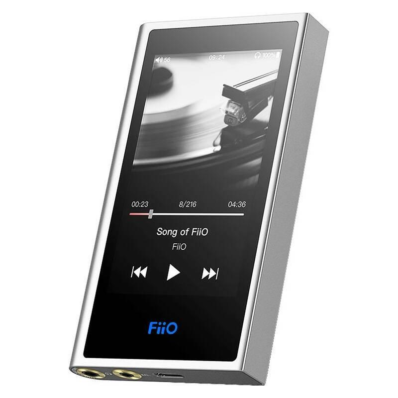 Přenosný digitální přehrávač FiiO M9 stříbrný