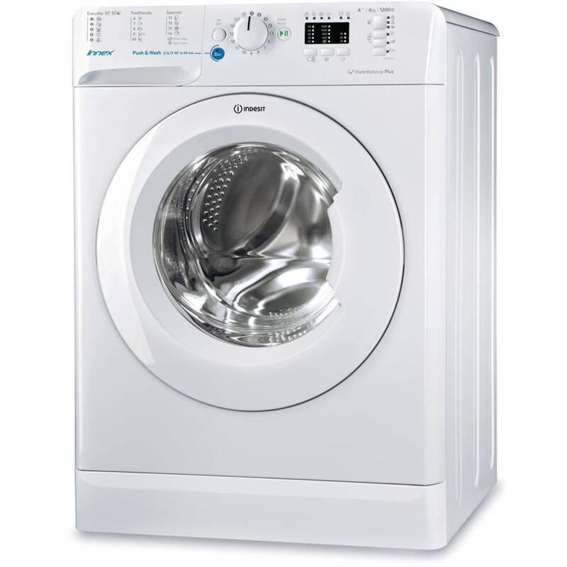 Pračka Indesit BWSA 61253 W EU bílá