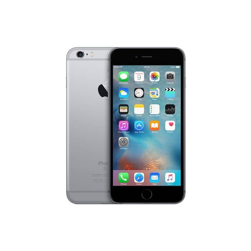 Mobilný telefón Apple iPhone 6s Plus 16GB - Space Gray (MKU12CN/A) sivý + Doprava zadarmo