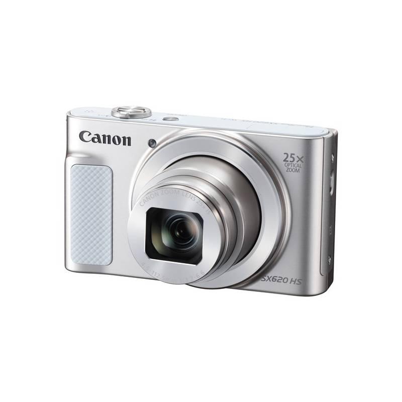 Digitálny fotoaparát Canon PowerShot SX620 HS (1074C002) biely Pouzdro foto Canon DCC-1500 (zdarma) + Doprava zadarmo