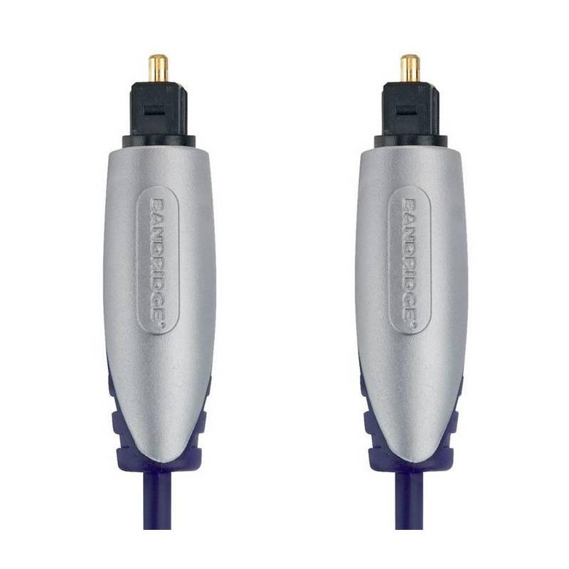 Kábel Bandridge Premium, optický, 1m, audio (BSAL5601) čierny