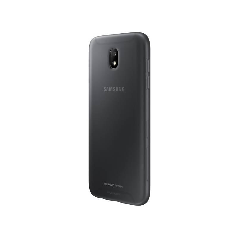 Kryt na mobil Samsung Jelly Cover pro J7 (2017) (EF-AJ730TBEGWW) čierny