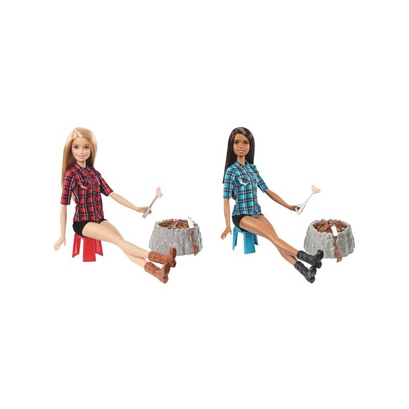 Barbie Mattel panenka u táboráku