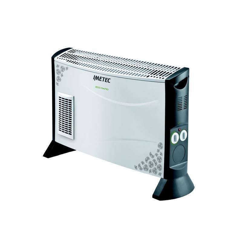 Teplovzdušný konvektor Imetec 4006 čierny/biely