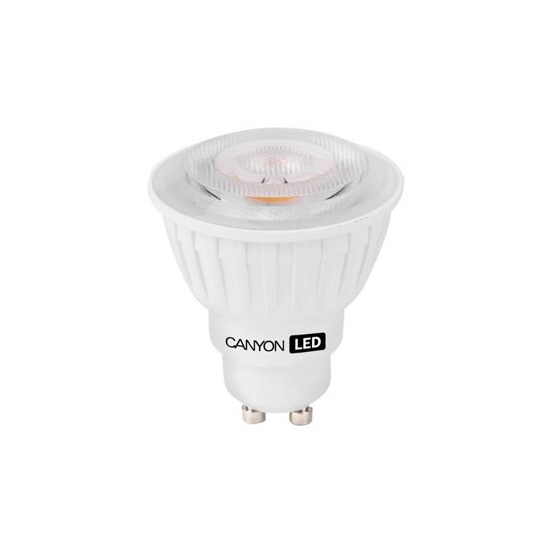 LED žiarovka Canyon bodová, 4,8W, GU10, teplá bílá