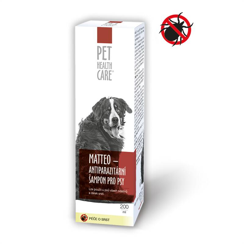 Šampón Pet Health Care Šampon MATTEO antiparazit. pre psov 200ml