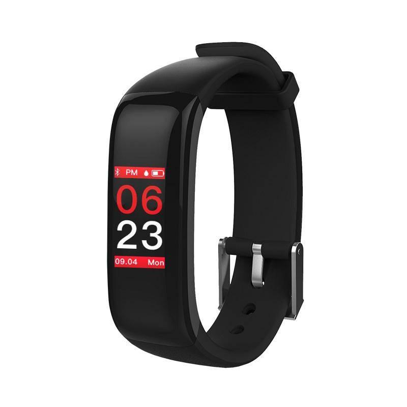 Fitness náramek Carneo U7+ (8588006962376) černý