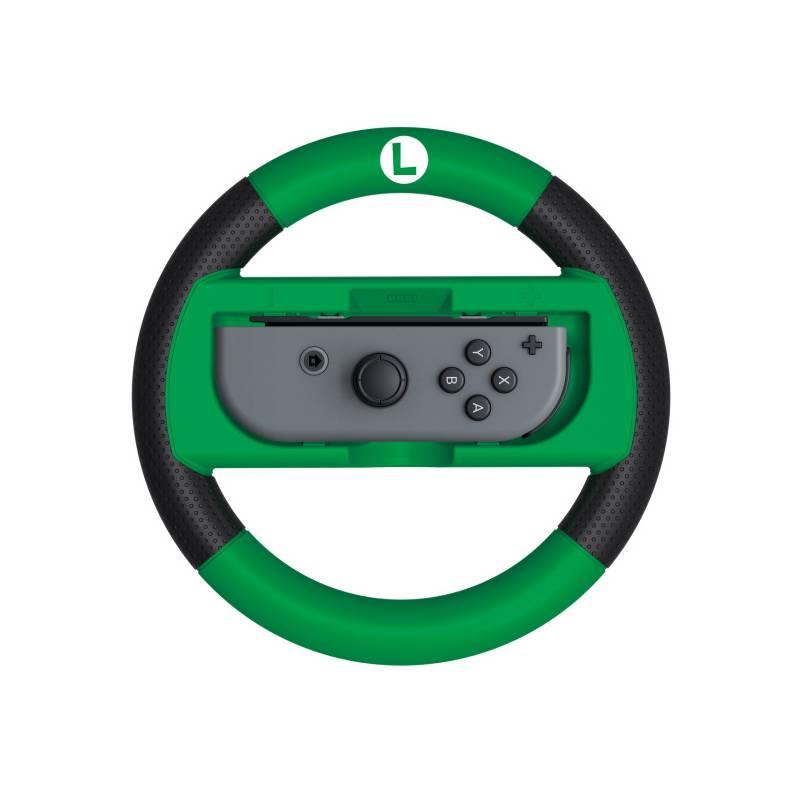 Volant HORI Joy-Con Wheel Deluxe (Luigi) pro Nintendo Switch (NSP1162) zelená