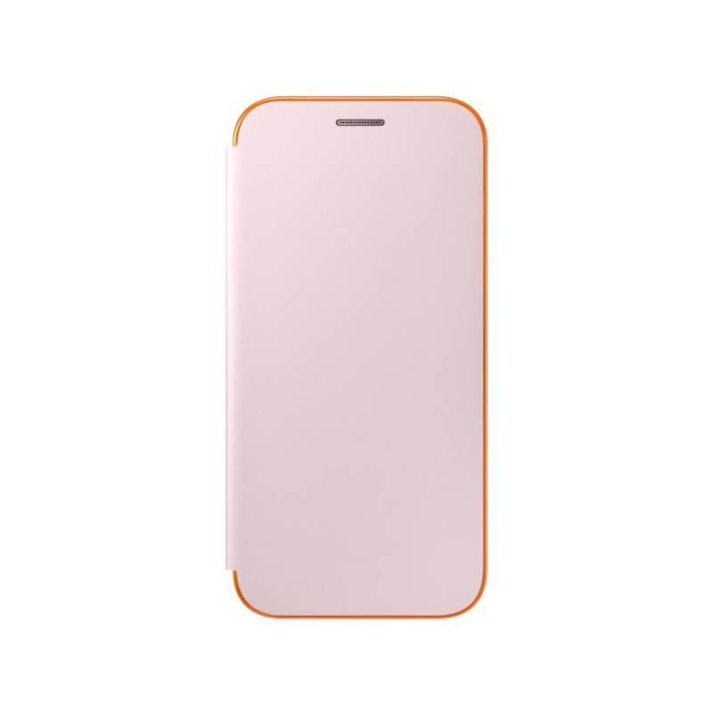 Puzdro na mobil flipové Samsung Neon Flip pro Galaxy A5 2017 (EF-FA520P) (EF-FA520PPEGWW) ružové
