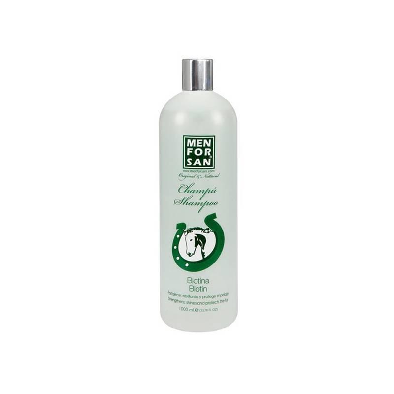 Šampón Menforsan přírodní s biotinem 1 000 ml