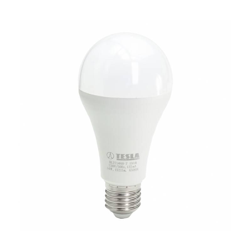 LED žiarovka Tesla klasik, 14W, E27, studená bílá (BL271460-7)