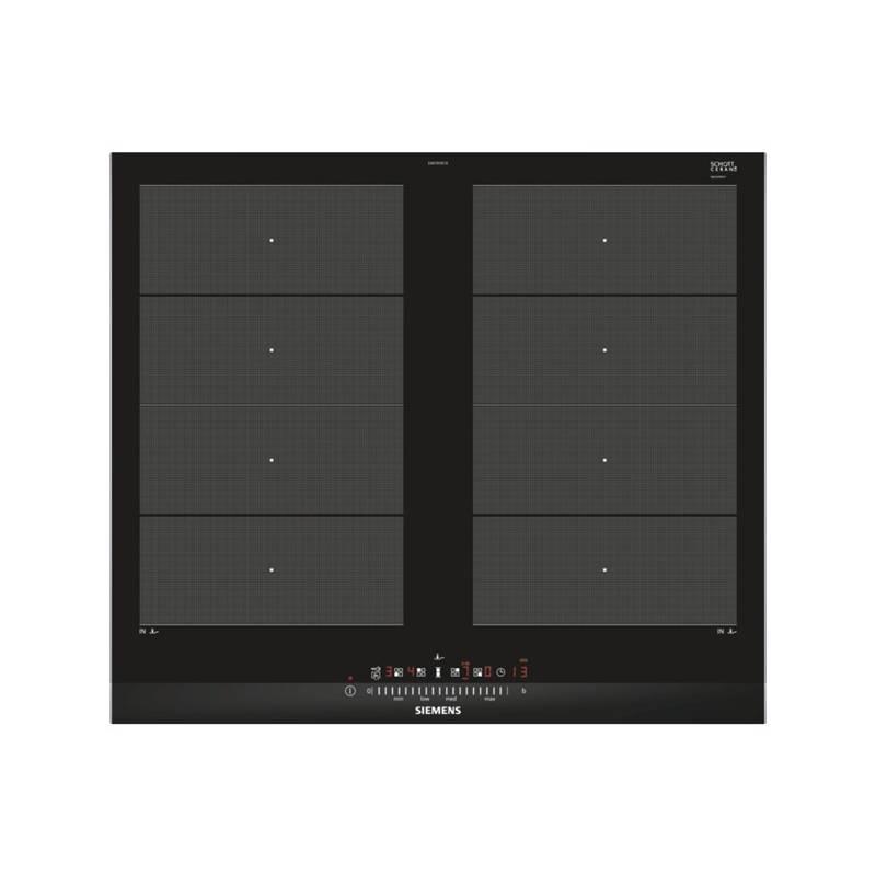 Indukční varná deska Siemens EX675FXC1E černá/nerez