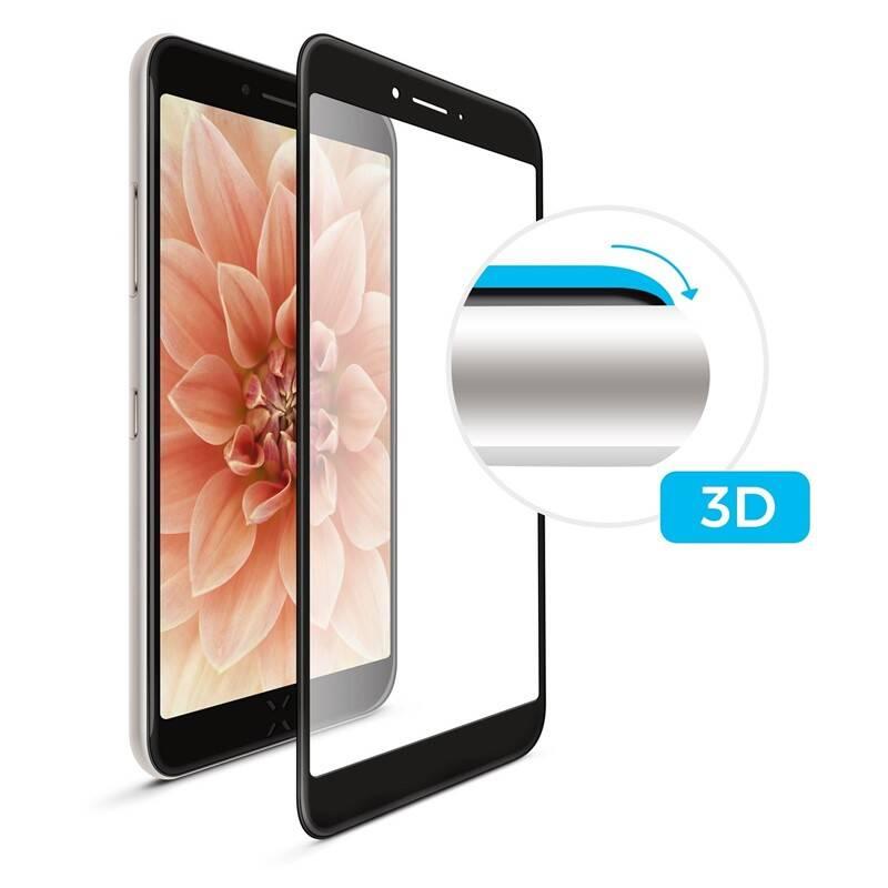 Ochranné sklo FIXED 3D Full-Cover pro Huawei P Smart (2019) (FIXG3D-367-BK) černé