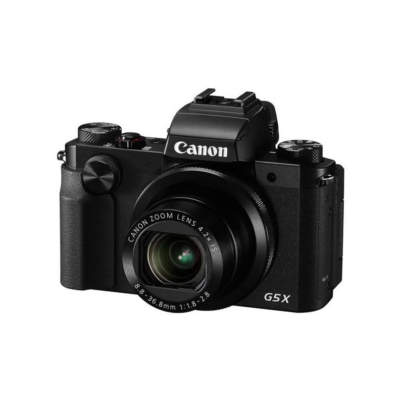 Digitálny fotoaparát Canon PowerShot G5 X čierny + Doprava zadarmo