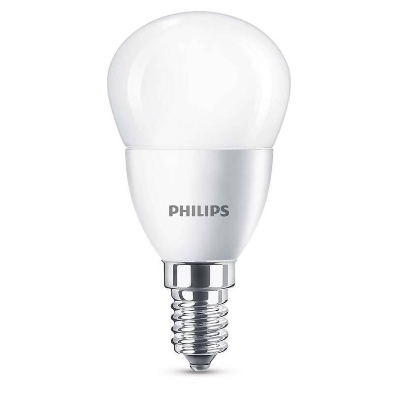 LED žiarovka Philips klasik, 4W, E14, teplá bílá (8718696474945)