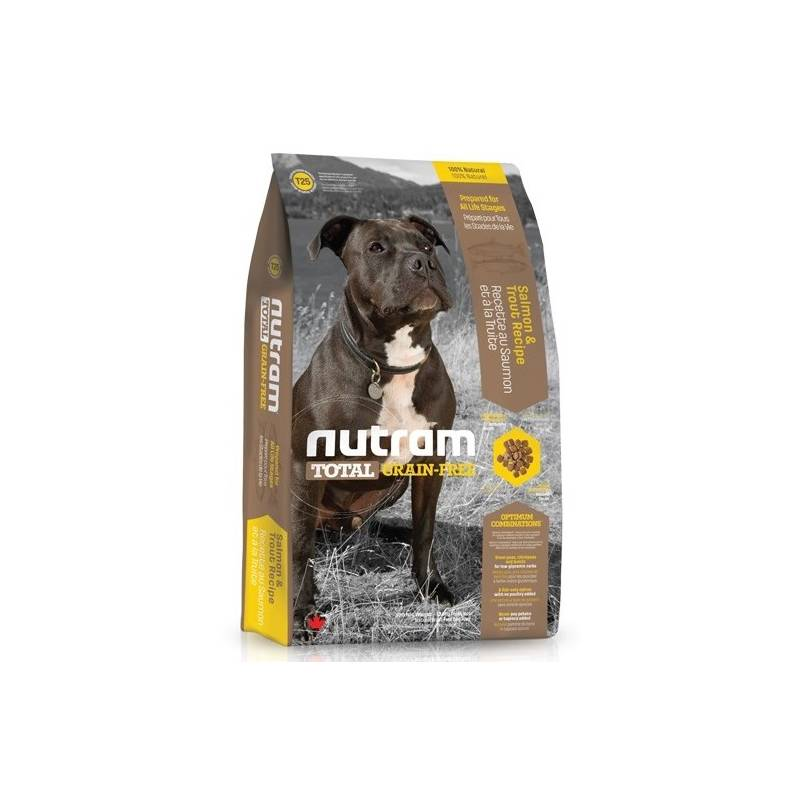 Granule NUTRAM Total Grain Free Salmon, Trout Dog 11,34 kg