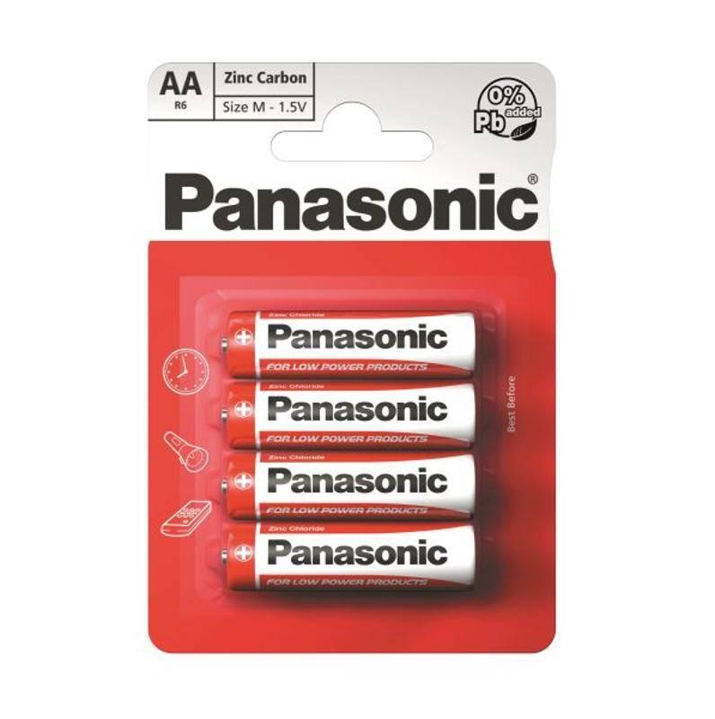 Batéria Panasonic AA, 4 ks (3846)
