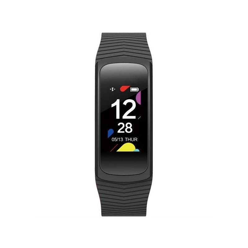 Fitness náramek Evolveo FitBand B3 pro měření krevního tlaku a tepové frekvence (FTD-B3) černý