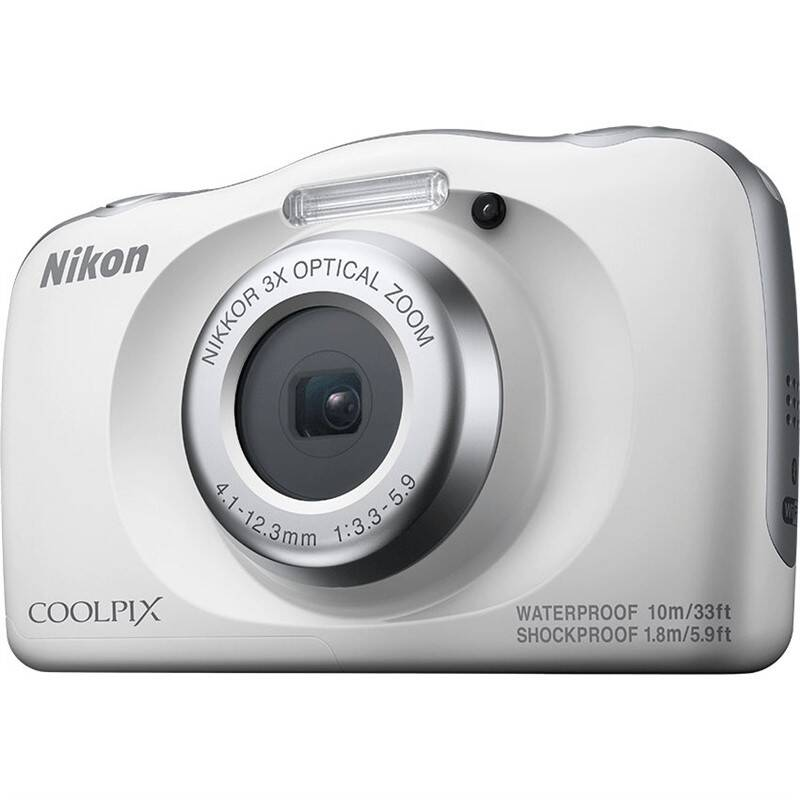 Digitální fotoaparát Nikon Coolpix W150 HOLIDAY KIT bílý