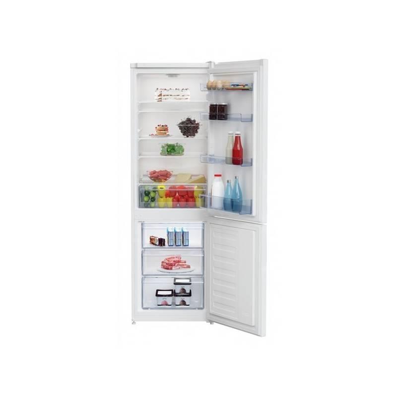 Kombinácia chladničky s mrazničkou Beko RCSA 270 K20W biela + dodatočná zľava 10 %