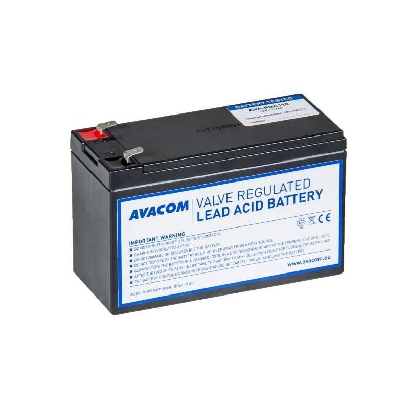 Akumulátor Avacom RBC30 - náhrada za APC (AVA-RBC30-KIT) čierna