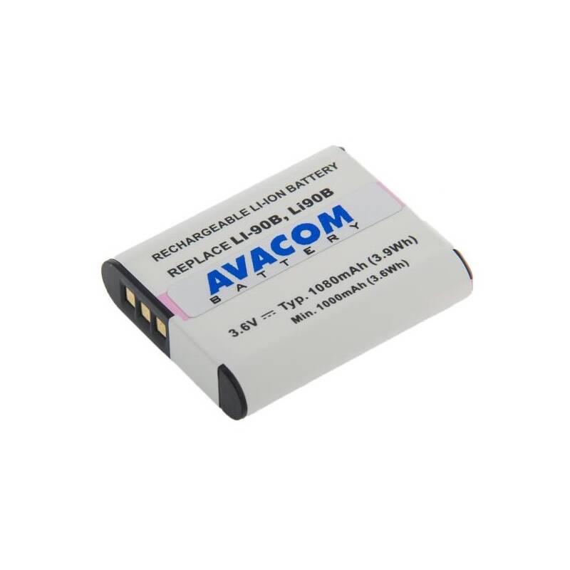 Batéria Avacom Olympus LI-90B, LI-92B Li-Ion 3.7V 1080mAh 3.9Wh (DIOL-LI90-836N2)