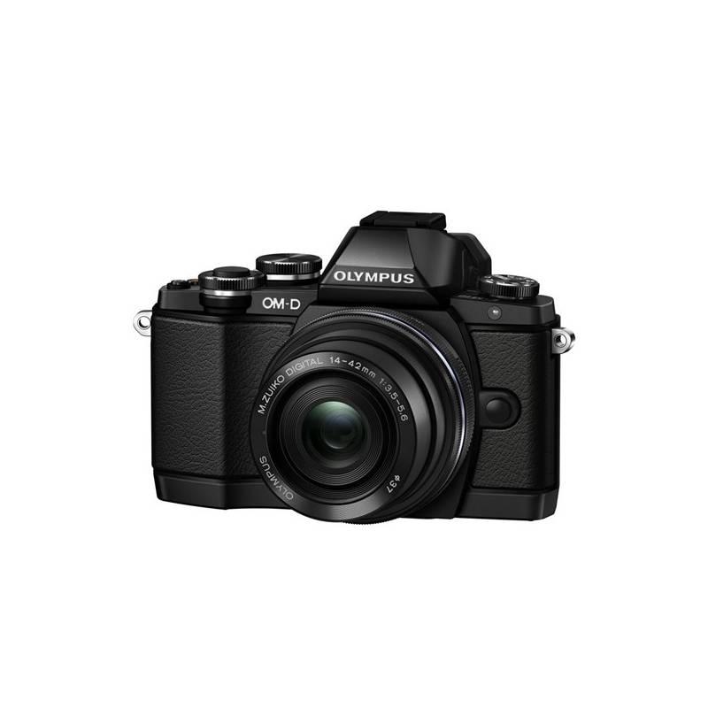 Digitálny fotoaparát Olympus E-M10II 1442IIR čierny + Doprava zadarmo