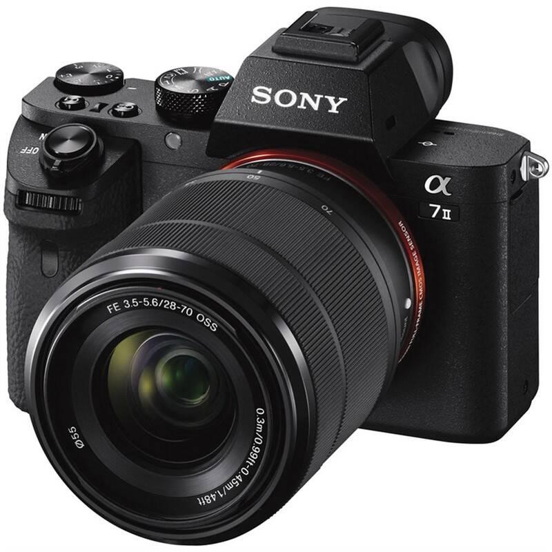 Digitálny fotoaparát Sony Alpha 7 II + 28-70 OSS čierny
