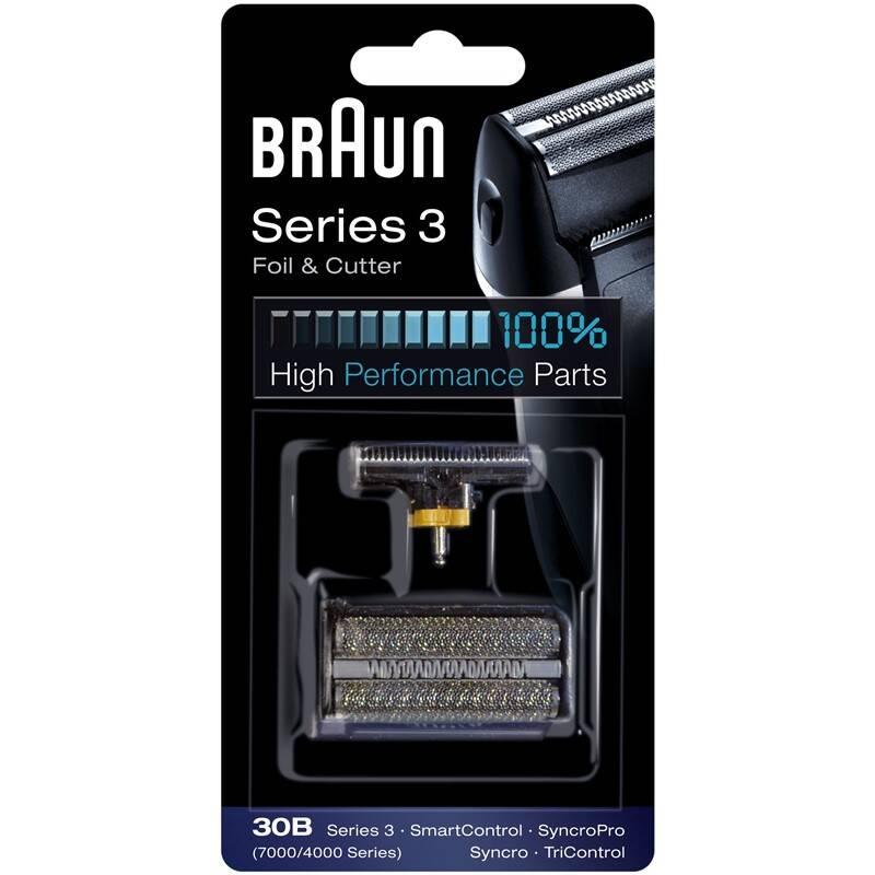 Príslušenstvo pre holiace strojčeky Braun CombiPack Syncro - 30B čierne