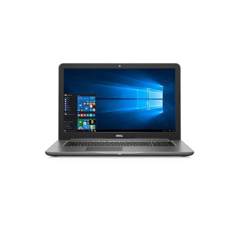 Notebook Dell Inspiron 17 5000 (5767) (N-5767-N2-711S) sivý + Doprava zadarmo