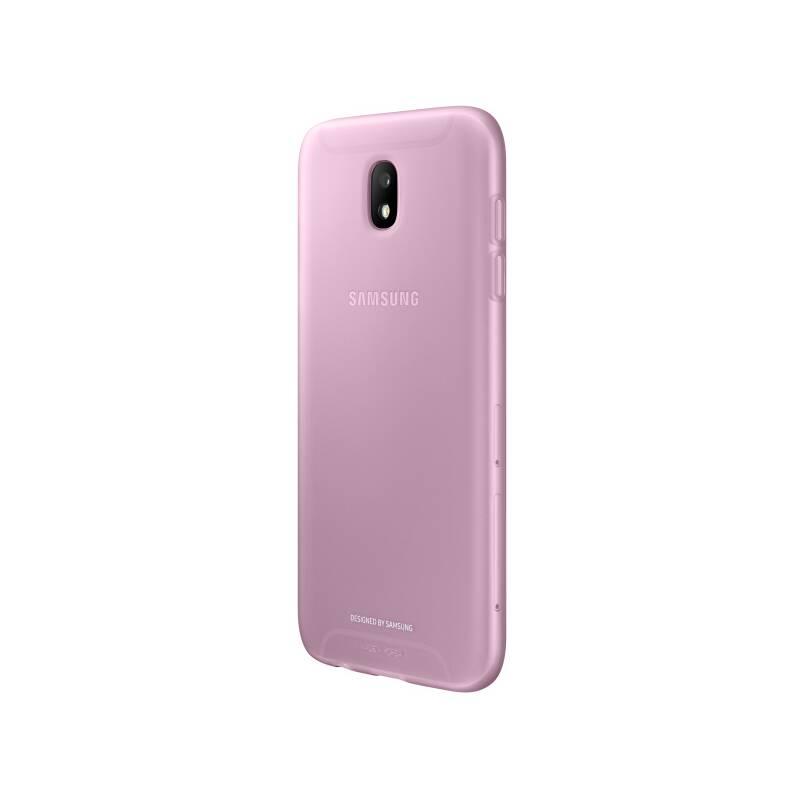 Kryt na mobil Samsung Jelly Cover pro J7 2017 (EF-AJ730T) (EF-AJ730TPEGWW) ružový