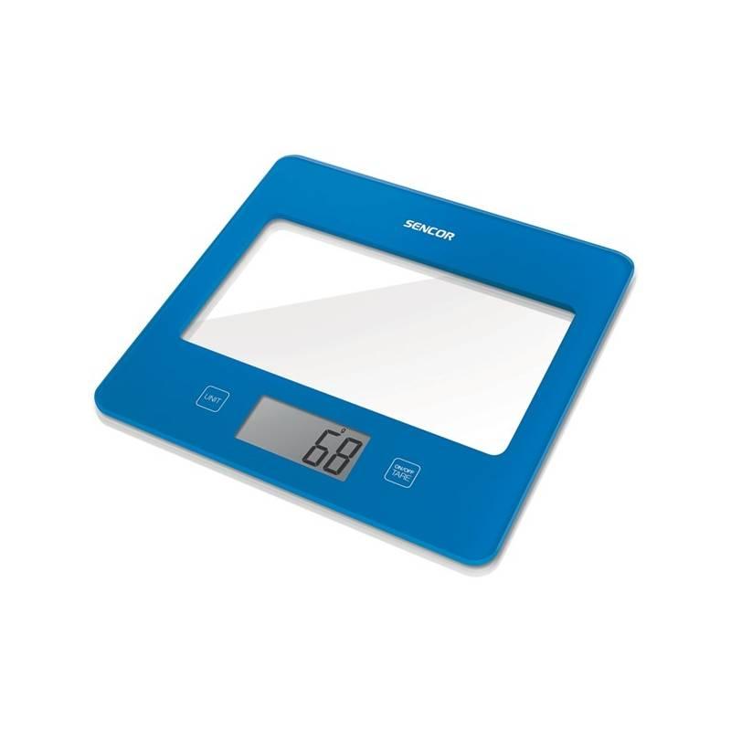 Kuchynská váha Sencor SKS 5022BL modrá